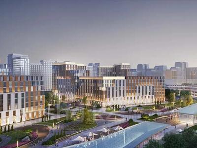 3-комнатная квартира, 105.4 м², 10/12 этаж, Ханов Керея и Жанибека за ~ 39.1 млн 〒 в Нур-Султане (Астана), Есиль р-н