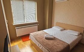 2-комнатная квартира, 75 м², 6/25 этаж посуточно, Каблукова 38г за 12 000 〒 в Алматы, Бостандыкский р-н