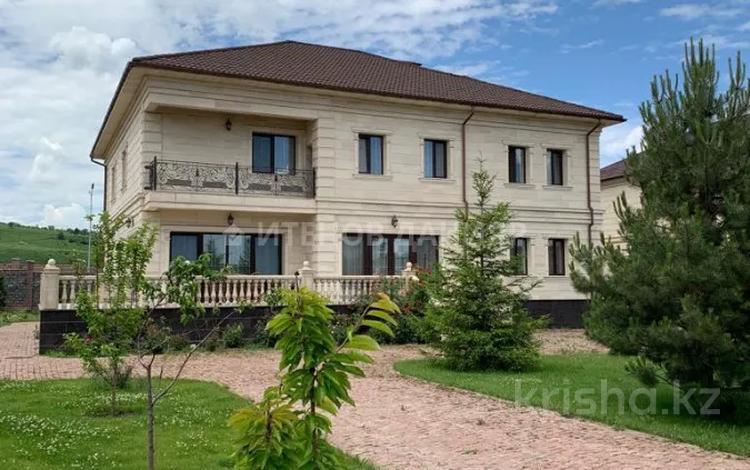 7-комнатный дом, 668 м², 25 сот., Микрорайон Хан Тенгри 123 за 660 млн 〒 в Алматы, Бостандыкский р-н