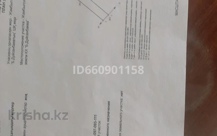 Участок 1.095 га, Тараз за 26 млн 〒