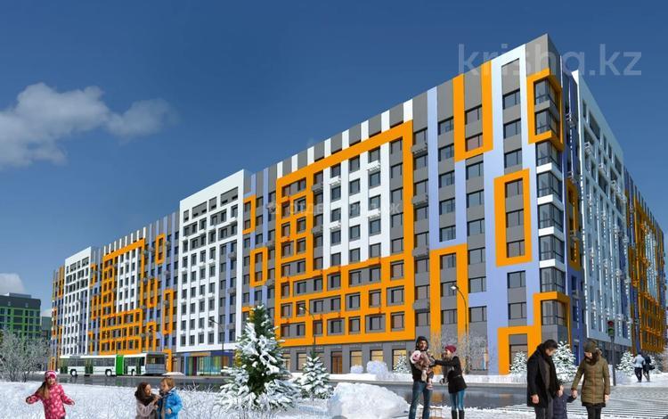2-комнатная квартира, 45.49 м², Толе би — Е-10 за ~ 13.1 млн 〒 в Нур-Султане (Астана), Есиль р-н