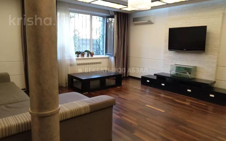 4-комнатная квартира, 165 м², 2/9 этаж, Аскарова Асанбая — проспект Аль-Фараби за 77 млн 〒 в Алматы, Наурызбайский р-н