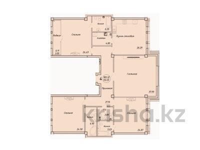 4-комнатная квартира, 188.5 м², 2/7 этаж, Тумар Ханым за ~ 160.2 млн 〒 в Нур-Султане (Астана), Есиль р-н