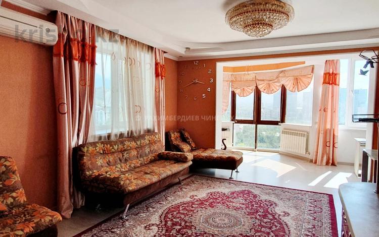 2-комнатная квартира, 80 м², 10/15 этаж помесячно, Аль-Фараби 53 — Маркова за 200 000 〒 в Алматы, Бостандыкский р-н