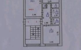 2-комнатная квартира, 60 м², 3/5 этаж, Шашубая 4 за 12.5 млн 〒 в Балхаше