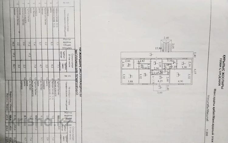 15-комнатный дом, 417 м², 8 сот., Кожабекова 3 — Райымулы Чокпара за 28 млн 〒 в Коксай (пути Ильича)