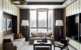2-комнатная квартира, 64 м², 9/33 этаж помесячно, Аль-Фараби 5к3А за 400 000 〒 в Алматы, Медеуский р-н