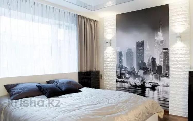 2-комнатная квартира, 90 м², 3 этаж посуточно, Каблукова 264 — проспект Аль-Фараби за 15 000 〒 в Алматы, Медеуский р-н