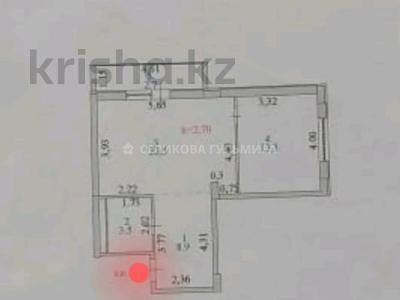 1-комнатная квартира, 51 м², 11/18 этаж, К. Азербаева за 16.5 млн 〒 в Нур-Султане (Астана), Алматы р-н — фото 9