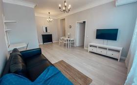 2-комнатная квартира, 60 м², 2/5 этаж помесячно, Бухар Жырау 26 за 200 000 〒 в Караганде, Казыбек би р-н