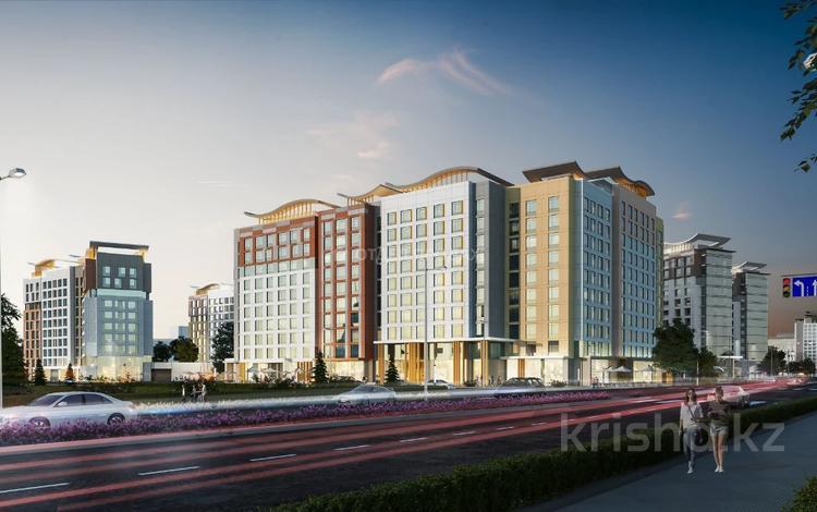3-комнатная квартира, 113.53 м², Каиыма Мухамедханова за ~ 40 млн 〒 в Нур-Султане (Астана), Есиль р-н