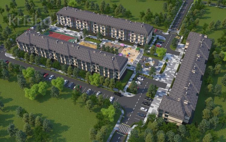 1-комнатная квартира, 45.79 м², Каирбекова 451 за ~ 10.1 млн 〒 в Костанае