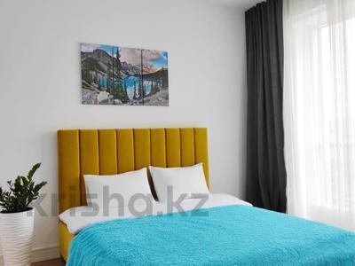 1-комнатная квартира, 45 м², 10/17 этаж посуточно, Брауна 20 за 17 000 〒 в Алматы, Бостандыкский р-н