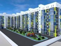 2-комнатная квартира, 95.07 м², Самал 82 за ~ 21.7 млн 〒 в Уральске