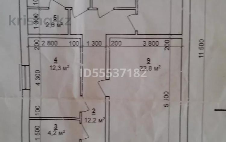 4-комнатный дом, 100 м², 4 сот., Соколовская — Л.Беды за 10 млн 〒 в Костанае