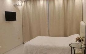 1-комнатная квартира, 42 м², 5/9 этаж посуточно, Абая 130 — Хусайнова за 10 000 〒 в Алматы, Бостандыкский р-н
