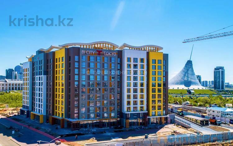 1-комнатная квартира, 47.5 м², 6/11 этаж, Каиыма Мухамедханова 4а за 20.3 млн 〒 в Нур-Султане (Астана), Есиль р-н