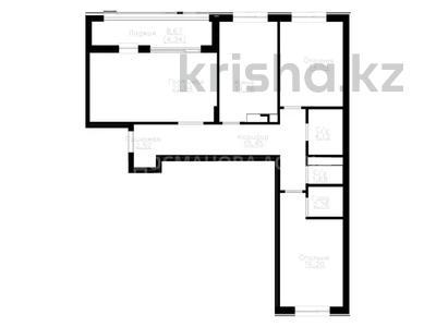 3-комнатная квартира, 100.9 м², 6/9 этаж, проспект Улы Дала — Акмешит за ~ 37.2 млн 〒 в Нур-Султане (Астана), Есиль р-н — фото 3