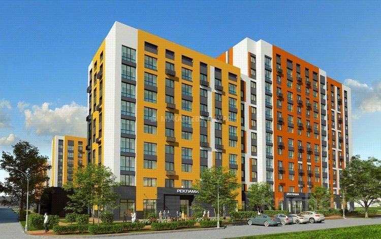 3-комнатная квартира, 77.35 м², 9/12 этаж, Рыскулбекова 29 за ~ 19.3 млн 〒 в Нур-Султане (Астана), Есиль р-н