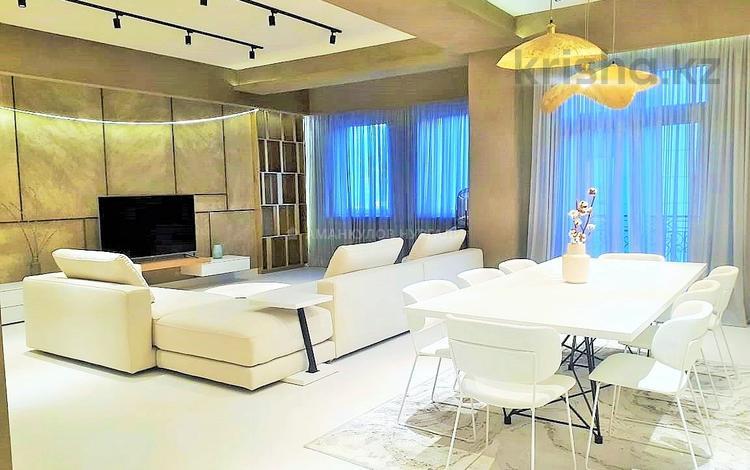 4-комнатная квартира, 197 м², 4/10 этаж, Рубинштейна 21А за 216 млн 〒 в Алматы, Медеуский р-н