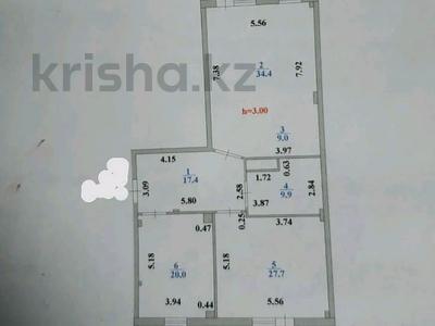 3-комнатная квартира, 125 м², 3/17 этаж, Кенесары 4 — Шевченко за 28.5 млн 〒 в Нур-Султане (Астане), Сарыарка р-н