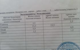 1-комнатная квартира, 18.9 м², 5/5 этаж, Лермонтова 92 — Бухар Жырау за 5 млн 〒 в Павлодаре