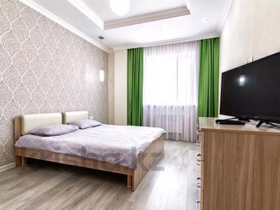 2-комнатная квартира, 65 м², 9/14 этаж посуточно, Мангилик ел 17 — Алматы за 10 000 〒 в Нур-Султане (Астана), Есиль р-н