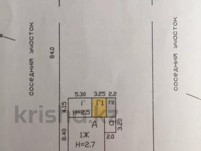 2-комнатный дом, 69.2 м², 1680 сот., Тельмана 6 — Центральный переулок за 11 млн 〒 в Кабанбае Батыра — фото 3