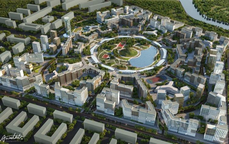 3-комнатная квартира, 109.49 м², 2/12 этаж, Керей и Жанибек хана 1 за ~ 39.7 млн 〒 в Нур-Султане (Астана), Есиль р-н