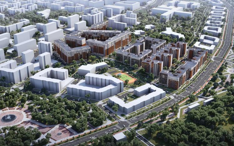 2-комнатная квартира, 76 м², Косшугулы 159 за ~ 19.8 млн 〒 в Нур-Султане (Астане)