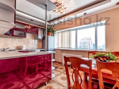 2-комнатная квартира, 110 м², 20/41 этаж посуточно, Достык 5 — Сауран за 13 000 〒 в Нур-Султане (Астана), Есиль р-н — фото 2