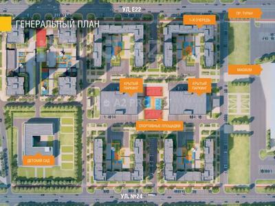3-комнатная квартира, 96.6 м², проспект Туран 63 за ~ 28.7 млн 〒 в Нур-Султане (Астана), Есиль р-н — фото 13
