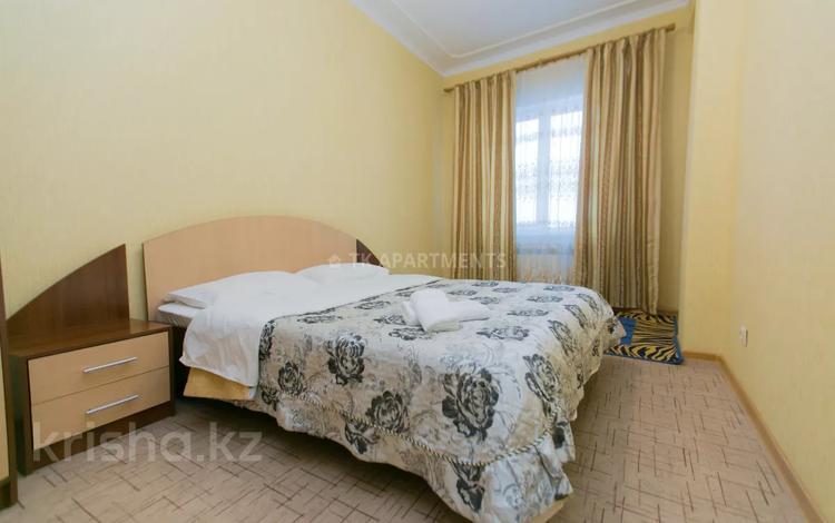 2-комнатная квартира, 98 м², 12/18 этаж посуточно, Туркестан 2 — Сыганак за 13 000 〒 в Нур-Султане (Астана), Есиль р-н
