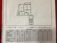 3-комнатная квартира, 90 м², 6/6 этаж