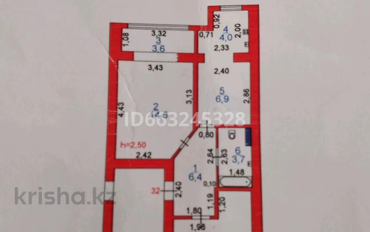 2-комнатная квартира, 51 м², 1/5 этаж, С.Датова 13 за 12.5 млн 〒 в Атырау