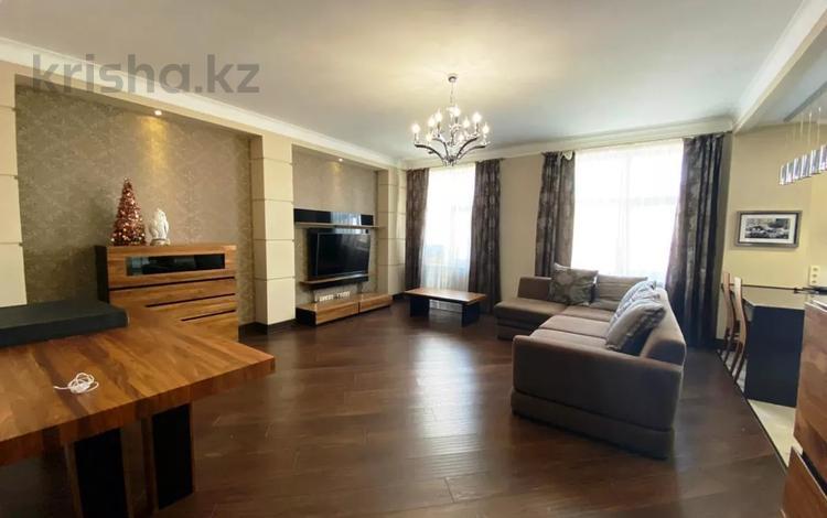 3-комнатная квартира, 120 м², 4 этаж помесячно, Амман 2 за 300 000 〒 в Нур-Султане (Астана), Алматы р-н