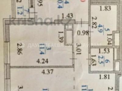 2-комнатная квартира, 57 м², 11/12 этаж, Алматы 11 — Туркестан за 24.8 млн 〒 в Нур-Султане (Астана) — фото 8