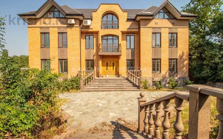 7-комнатный дом, 700 м², 30 сот., Аскарова — Садыкова за 292 млн 〒 в Алматы, Бостандыкский р-н