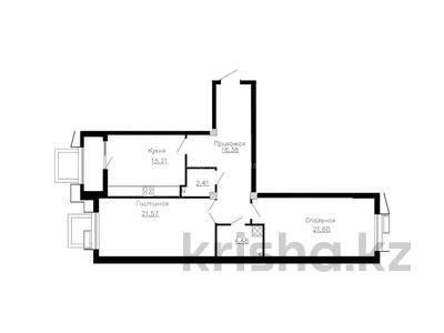 2-комнатная квартира, 85.31 м², 2/17 этаж, Розыбакиева 320 за ~ 45.1 млн 〒 в Алматы, Бостандыкский р-н