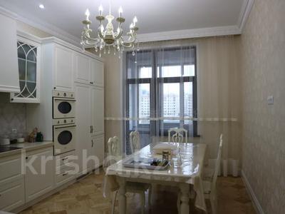 4-комнатная квартира, 150 м², 4/7 этаж помесячно, проспект Мангилик Ел 23 — Ханов Керея и Жанибека за 850 000 〒 в Нур-Султане (Астана), Есиль р-н