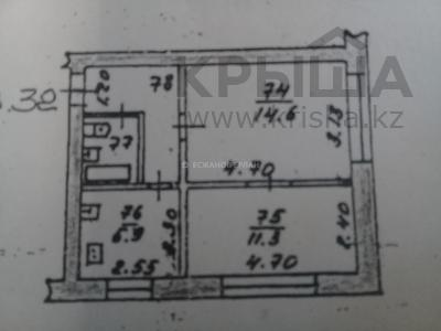2-комнатная квартира, 40 м², 1/4 этаж, Абая — Шагабутдинова за 20 млн 〒 в Алматы, Алмалинский р-н — фото 18