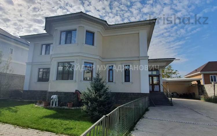 5-комнатный дом, 340 м², 10 сот., мкр Курамыс — Грозы за 100 млн 〒 в Алматы, Наурызбайский р-н