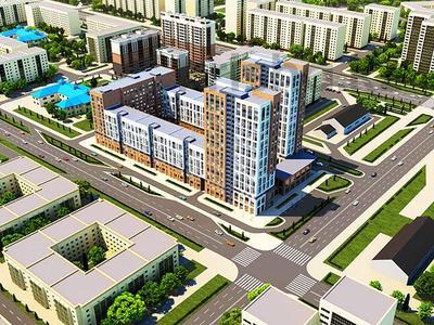 2-комнатная квартира, 84.1 м², Айнакол 66/1 за ~ 22.7 млн 〒 в Нур-Султане (Астане), Алматы р-н
