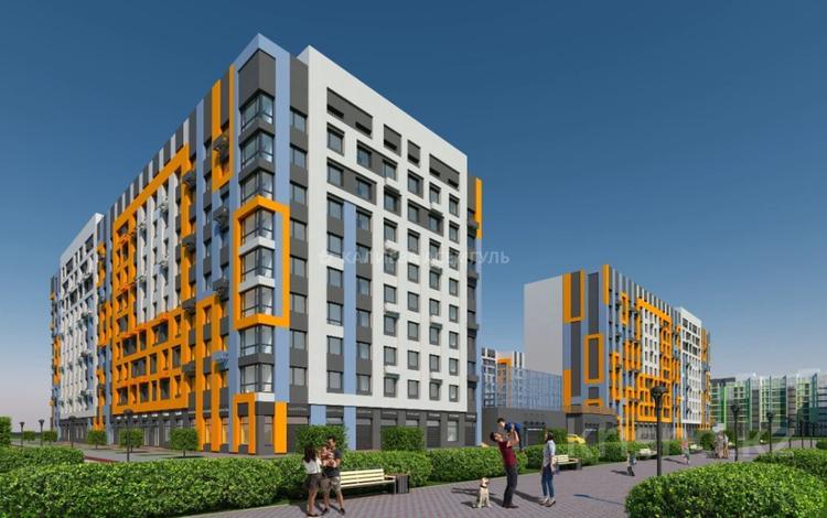 1-комнатная квартира, 35.28 м², 2/9 этаж, Рыскулбекова 29 за ~ 9.2 млн 〒 в Нур-Султане (Астана), Алматы р-н