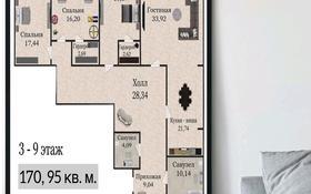 4-комнатная квартира, 170.95 м², Самал 82 за ~ 36.8 млн 〒 в Уральске