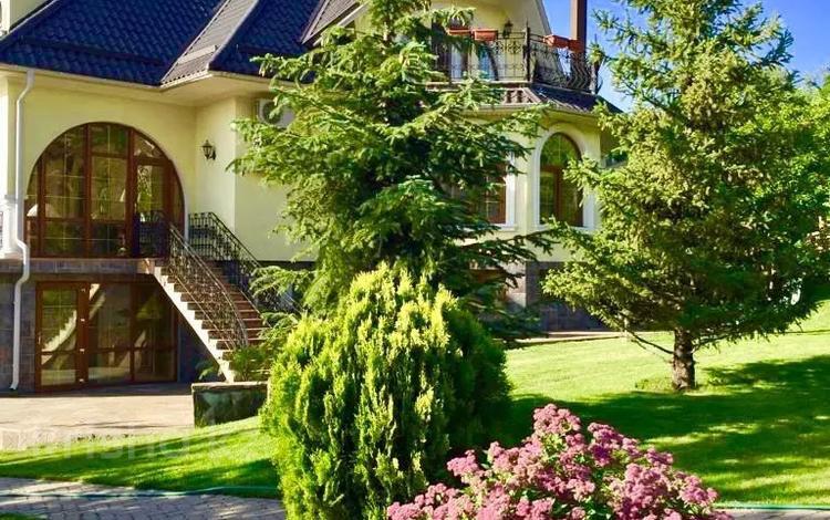 7-комнатный дом, 530 м², 30 сот., мкр Юбилейный за 620 млн 〒 в Алматы, Медеуский р-н