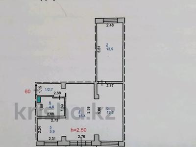 2-комнатная квартира, 60 м², 5/5 этаж, 1 Мая 8 — Урицкого за 6.9 млн 〒 в Павлодаре