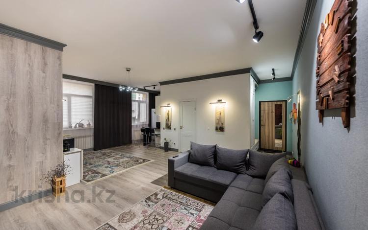2-комнатная квартира, 60 м², 2/8 этаж, Кайыма Мухамедханова 21 за 24 млн 〒 в Нур-Султане (Астана), Есиль р-н