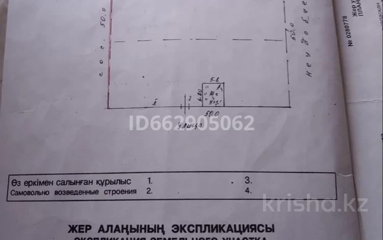 Участок 25 соток, Жамбыл за 2.8 млн 〒 в Алматинской обл.