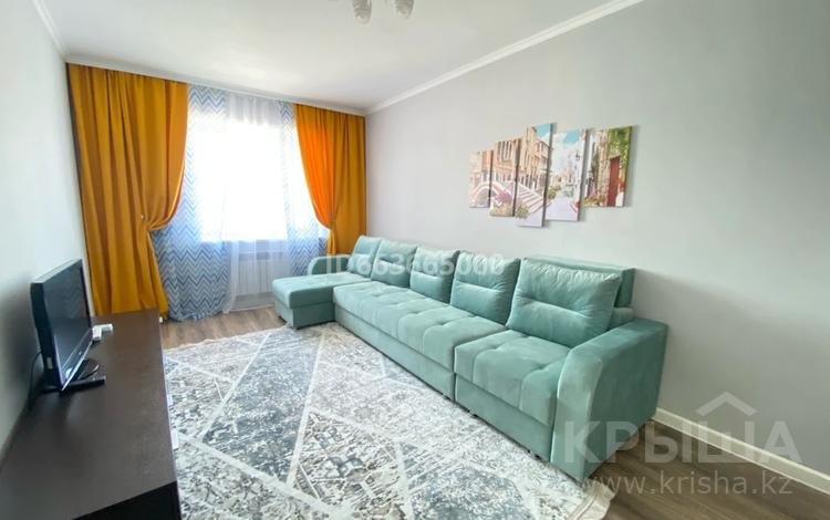 1-комнатная квартира, 40 м², 6/10 этаж помесячно, Әлихан Бөкейхан 15 за 130 000 〒 в Нур-Султане (Астана), Есиль р-н
